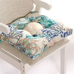 Under the Sea Chair Pad Cushion Multi Cool Chairpad