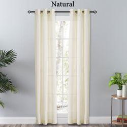 Chesterbrook Semi Sheer Grommet Curtain Pair 80 x 84