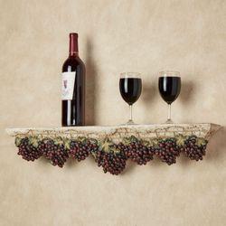 Vino Italiano Wall Shelf Multi Earth