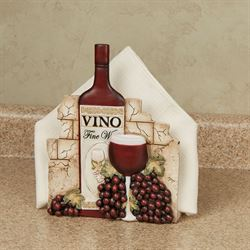 Vino Italiano Napkin Holder Multi Earth