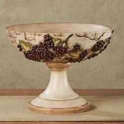 Vino Italiano Decorative Centerpiece Bowl Multi Earth
