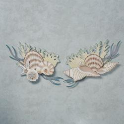 Ocean Treasures Wall Art Blue Set of Two