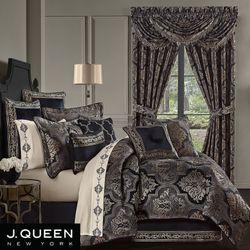 Windham Comforter Set Black