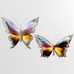 Graceful Butterfly I Wall Art Multi Jewel