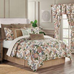 Audrey Reversible Comforter Set Multi Warm