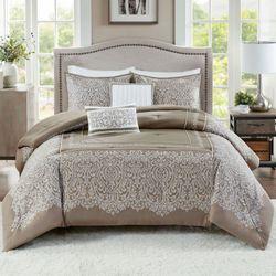 Henrietta Comforter Bed Set Latte