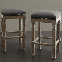 Cirque Backless Counter Stools Set of Two