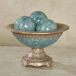 Cambria Centerpiece Bowl Only Aqua