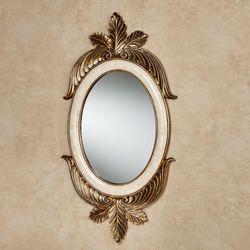 Ashfield Oval Wall Mirror Beige