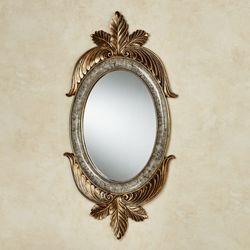 Ashfield Oval Wall Mirror Black