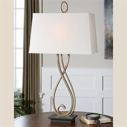 Ferndale Table Lamp Champagne