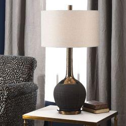 Arnav Table Lamp Black