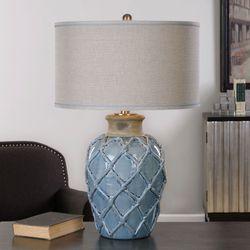 Parterre Table Lamp Pale Blue