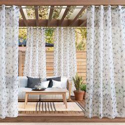 Foley Sheer Grommet Curtain Panel