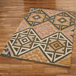 Wheatley Rectangle Rug Multi Earth