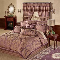 Josephine Comforter Set Maroon