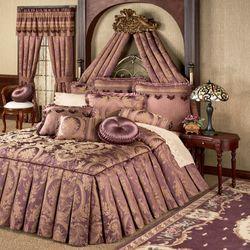 Josephine Grande Bedspread Maroon