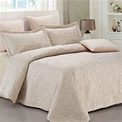 Solid Color Quilts and Matelasse Coverlet Bedding | Touch of Class : beige quilt - Adamdwight.com