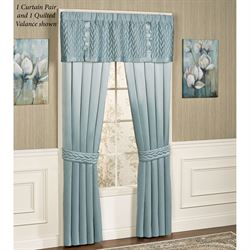 Silk Allure Quilted Valance 60 x 18