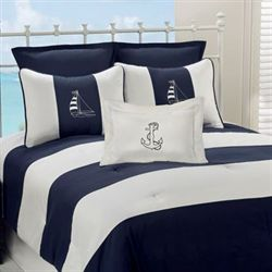 Regatta Comforter Set Navy