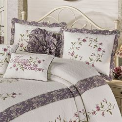 Ambrosia Quilted Sham Violet