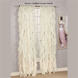 Cascade Sheer Voile Curtain Panel