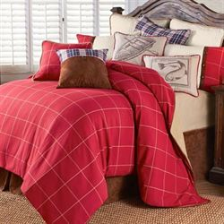 South Haven Comforter Set Red