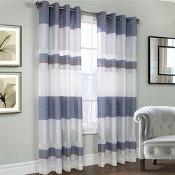 Talia Grommet Curtain Panel Midnight