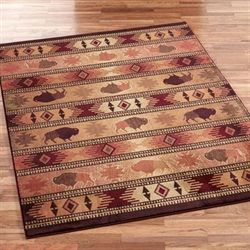 Buffalo Trail Area Rug