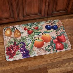 Natures Bounty Fruit Cushioned Kitchen Mat