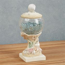 Pearl Beach Covered Jar Multi Pastel
