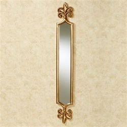 Royalton Wall Mirror Panel Antique Gold