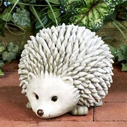 Hedgehog Statue Gray