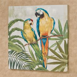 Glamour Girls Parrot Canvas Wall Art Multi Bright  sc 1 st  Touch of Class & Parrot Paradise Tropical Home Accents | Touch of Class