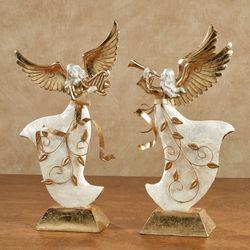 winters elegance angel figurine set