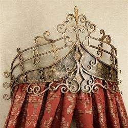 Alexandria Crown Wall Teester Bed Crown