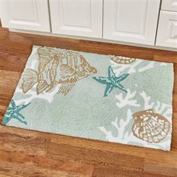 Reef Point Accent Rug Multi Cool 34 x 22