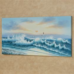Wave of Wonder II Canvas Wall Art Multi Cool