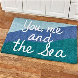 The Sea Accent Rug Multi Cool 34 x 22