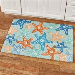 Starfish Accent Rug Multi Bright 34 x 22