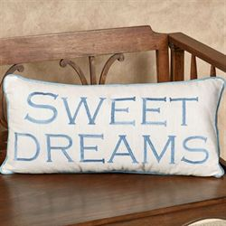 Sweet Dreams Rectangle Accent Pillow Cornflower 24 x 12