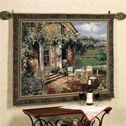 Vineyard Villa Wall Tapestry