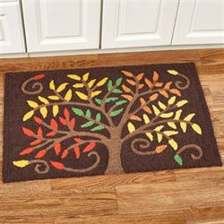 Autumn Colors Accent Rug Brown 33 x 21