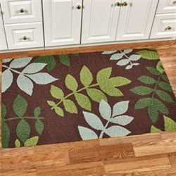 Natures Floor Rug Brown 34 x 54