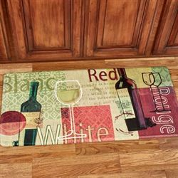 Wine Medley Comfort Floor Mat Multi Warm 41 x 20