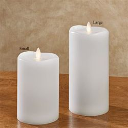 Coastal Breeze Flameless LED Candle White
