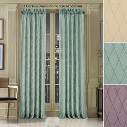 Archer Semi Sheer Curtain Panel
