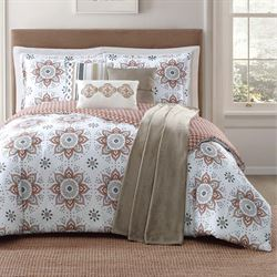Maywood Comforter Bed Set White