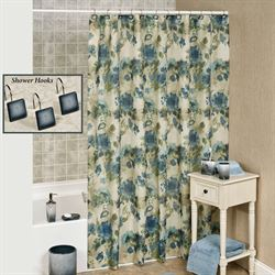 Landon Shower Curtain Parchment 70 x 72