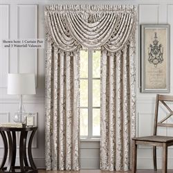 Bel Air Almond Wide Curtain Pair 100 x 84